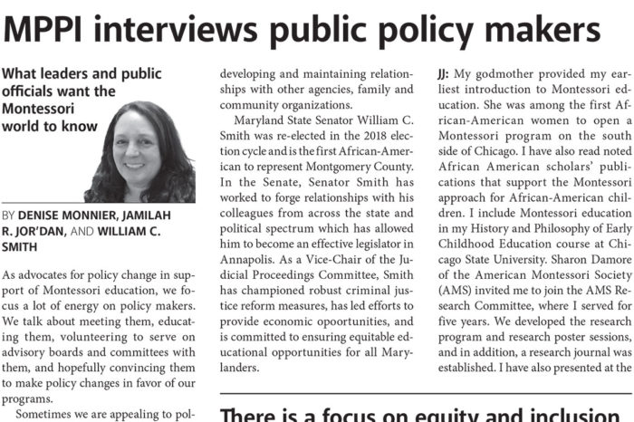 MPPI interviews public policy makers