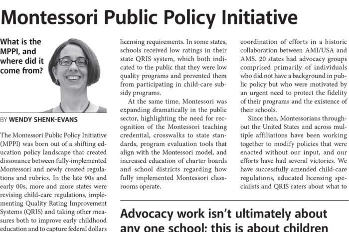 Montessori Public Policy Initiative