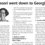 Montessori went down to Georgia